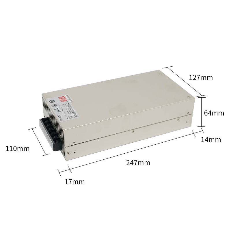 Mean well power supplly SE-600W-12V for laser hair removal system