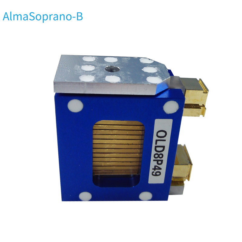 VS-MI-100-12 Alma Soprano Laser Stack Model B with blue side plate