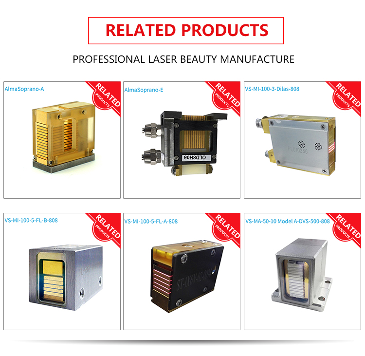 diode laser hair removal handpiece related products